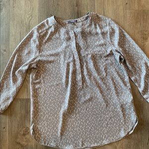 Business Casual Pattern 3/4 Sleeve Top